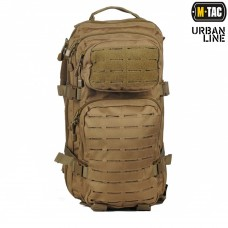 20л рюкзак M-Tac ASSAULT PACK LASER CUT COYOTE