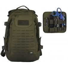 35л Рюкзак M-TAC INTRUDER PACK OLIVE со съемной админпанелью