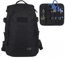 35л Рюкзак M-TAC INTRUDER PACK BLACK со съемной админпанелью