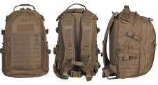 Городской рюкзак M-Tac Urban Line Charger Hexagon Pack COYOTE BROWN