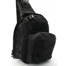 Рюкзак - сумка на плече Silver Knight BLACK АКЦІЯ