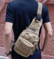 Рюкзак - сумка на плече Silver Knight COYOTE