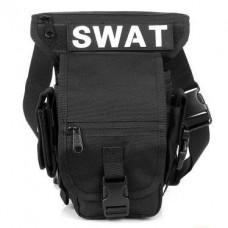 Сумка набедренная SWAT Silver Knight BLACK