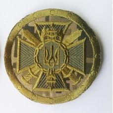 Шеврон Служба Безпеки України Управління (круглий з мечами)