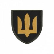 Шеврон Танкові війська ЗСУ Нового зразка Жаккард