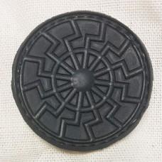 Купить Нашивка Черное Солнце резина черная в интернет-магазине Каптерка в Киеве и Украине