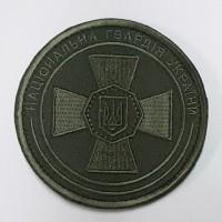 Шеврон Національна гвардія України (ОЛИВА)