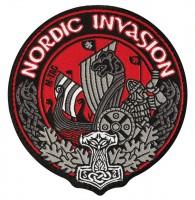 Шеврон NORDIC INVASION