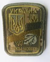 Шеврон Служба Безпеки України Пиксель