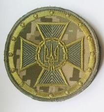 Шеврон Служба Безпеки України Пиксель (круглий)