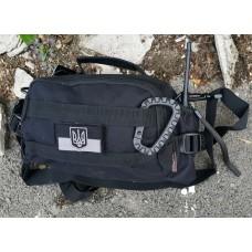 Универсальная сумка типа EDC Engineer Silver Knight 301 Black