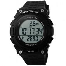 Часы тактические SKMEI 1112 BLACK с шагомером