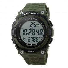 Часы тактические SKMEI 1112 GREEN с шагомером