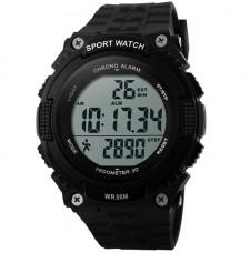 Купить Часы тактические SKMEI 1112 BLACK с шагомером в интернет-магазине Каптерка в Киеве и Украине