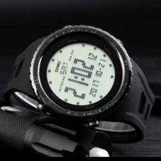 Купить Часы SKMEI 1246 черные в интернет-магазине Каптерка в Киеве и Украине