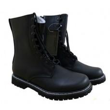 Зимові шкіряні черевики на хутрі MIL-TEC PILOT