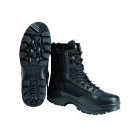 Зимові черевики MIL-TEC тактичні на блискавці Black Thinsulate