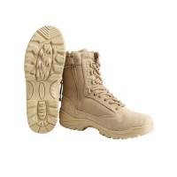 Зимние ботинки MIL-TEC тактические на молнии Coyote Thinsulate