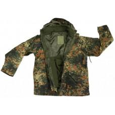 Куртка мембрана с флисовой подстежкой MIL-TEC Флектарн