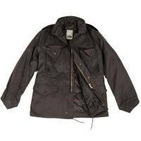 Куртка М65 MIL-TEC черная с подкладкой