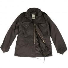 Куртка М65 MIL-TEC чорна з підкладкою