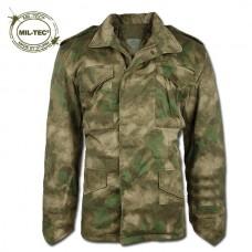 Купить Куртка М65 MIL-TEC A-TACS FG с подкладкой  в интернет-магазине Каптерка в Киеве и Украине