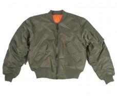 Куртка пілот МА1 MIL-TEC олива