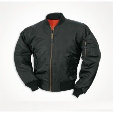 Куртка пілот МА1 MIL-TEC чорна