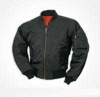Куртка пилот МА1 MIL-TEC черная.