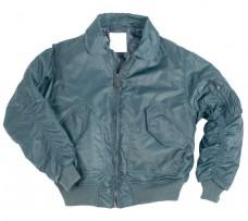 Куртка пилот CWU  MIL-TEC синяя.