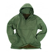 Куртка Анорак MIL-TEC COMBAT на флісі OLIVE