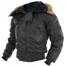 Куртка пилот N2B MIL-TEC черная.