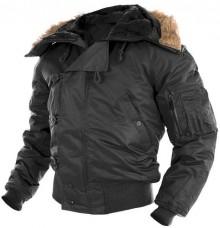 Куртка пілот зимова N2B MIL-TEC чорна