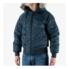 Куртка пілот зимова N2B MIL-TEC синя