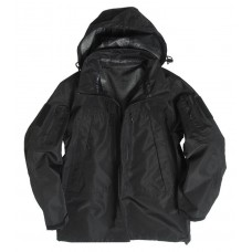 Куртка мембранная MIL-TEC SOFTSHELL PCU черная