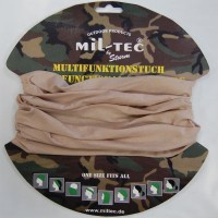 Бандана-балаклава-шарф-труба Mil-Tec TAN св. койот