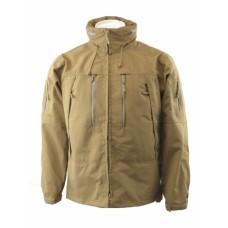 Куртка мембранная MIL-TEC SOFTSHELL PCU койот