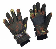 Зимние перчатки Mil-TECс утеплителемThinsulate камуфляж Флектарн