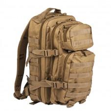Купить 20л рюкзак Mil-tec ASSAULT цвет койот 14002005 в интернет-магазине Каптерка в Киеве и Украине