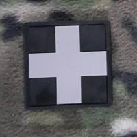 PVC патч CROSS MEDIC PATCH чорний