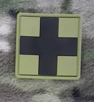 Резиновый патч CROSS MEDIC PATCH олива-черный