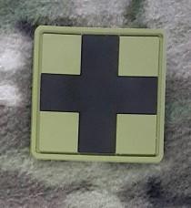 PVC патч CROSS MEDIC PATCH олива-чорний