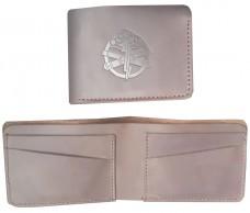 Купить Шкіряний гаманець з символикою Артилерія ЗСУ (коричн) Спеціальна ціна в интернет-магазине Каптерка в Киеве и Украине
