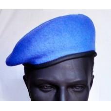 Берет ВДВ бесшовный - капля, голубой