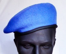 Берет ВДВ безшовний блакитний