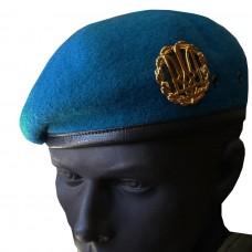 Купить Бесшовный берет ВДВ, синий в интернет-магазине Каптерка в Киеве и Украине