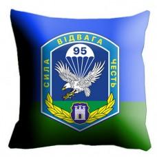 Подушка 95 бригада ВДВ шеврон бригады