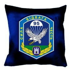 Подушка 95 бригада ВДВ с шевроном бригады