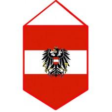 Вымпел флаг Австрии с гербом