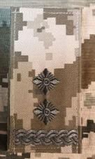 Погон Підполковник ЗСУ ММ14 Згідно Наказу 606 без обшивки